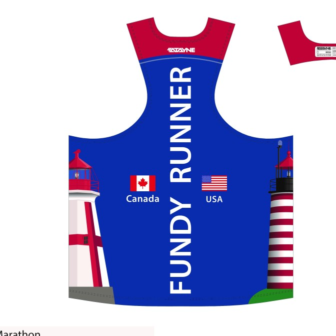 Got a Fundy Runner singlet yet? If this is your fifth year running with us please email us at info@bayoffundymarathon.com to let us know so we can be sure to have your singlet ready for you when you finish.